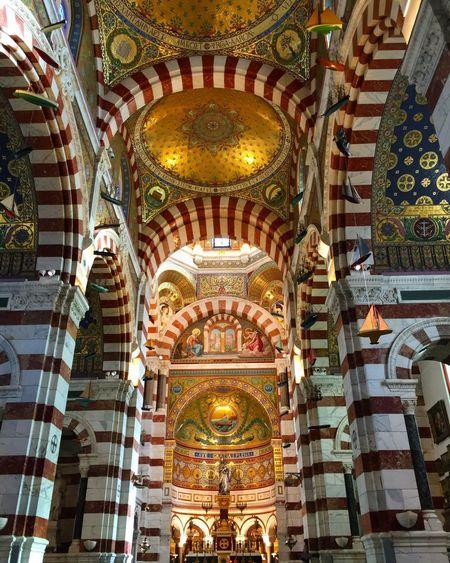 Marseille Notre Dame De La Garde Bonne Mere Gardienne Sud South France Bouche Du Rhône