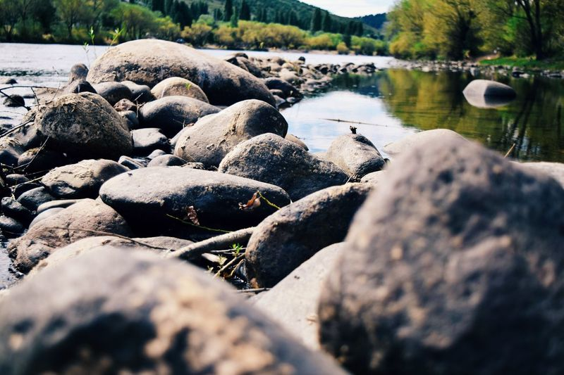 Water Nature Pebble Pebble Beach Stone - Object Surface Level River Outdoors Tranquility Day Beauty In Nature Riverbank No People Beach Travel Tranquility EyeEmNewHere The Great Outdoors - 2017 EyeEm Awards