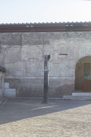 View of historical building