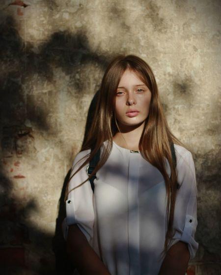 Young Women Portrait Beauty Beautiful Woman Standing Beautiful People Depression - Sadness Disappointment EyeEmNewHere