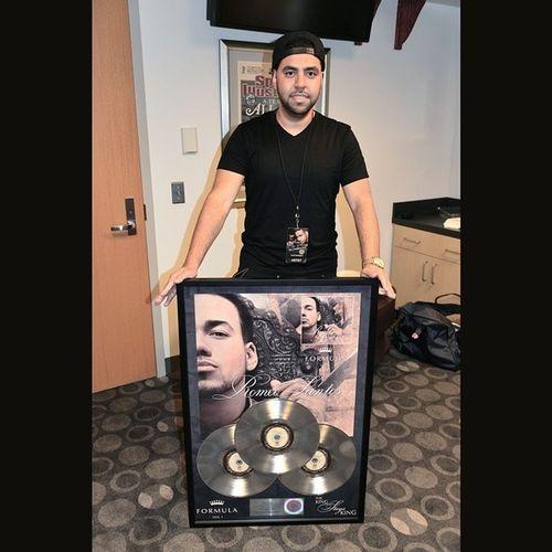 Formulavol1 triple platinum plaque designed by me. RomeoSantos Graphicdesigner Ernd0gz