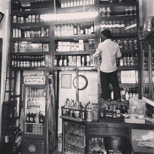 Cute little liquor store