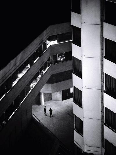DNA // Perth Australia Hyattregency Olympus Mirrorless Streetphotography Candid Blackandwhite Monochrome Silhouette Architecture Geometry A Bird's Eye View The Secret Spaces The Architect - 2017 EyeEm Awards