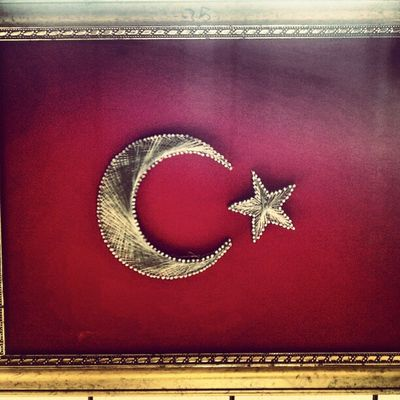 Türkbayrağı çivi Sanat Filografi