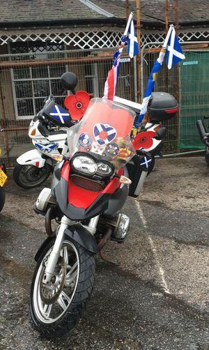 Motorcycles Bikes British Legion Scotlland