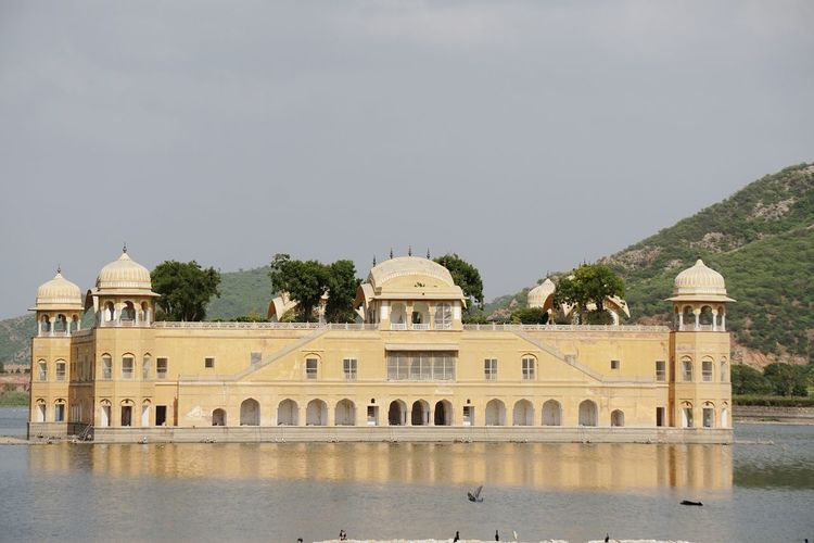 EyeEm Selects Jal Mahal Jaipur Tourist Place Travel Destinations Outdoors No People Old Ruin Architecture History Dome Building Exterior Water Reflection Cityscape Sky City Jaipur Rajasthan Getty Images Enjoy The Moment Beauty Architecture