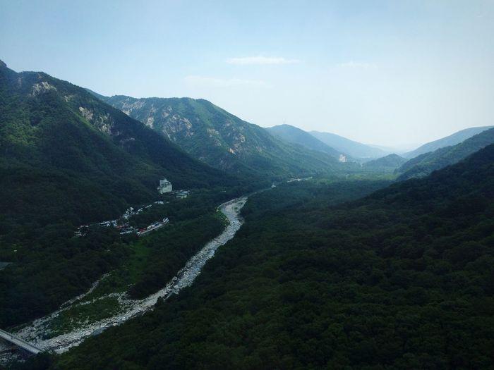 Mountain Mountains Sky Landscape Birdseyeview Travel The Traveler - 2015 EyeEm Awards Seorak Seorak Mountain
