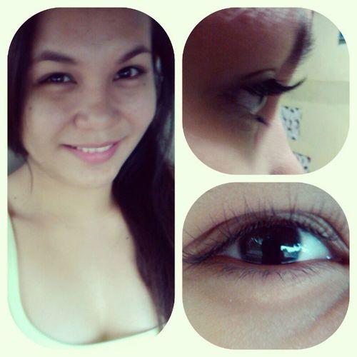 Just got my eyelash pirmed Eyelashpirming Ilash
