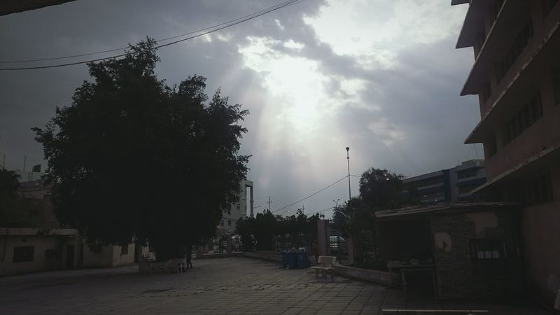 Sun Shining Over College Baghdad Iraq Daily Life Taking Photos BadNews :(