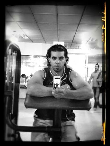 Gym Time In The Gym That's Me