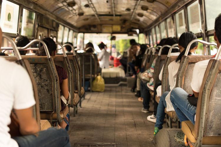 Bangkok Bus Local Bus Public Transportation South East Asia Travel Travel Asia