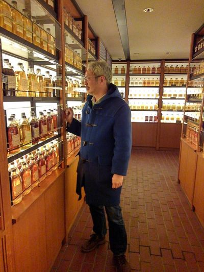 Japanese  Indoors  Male One Person Real People Standing Whiskey Yamazaki Distillery
