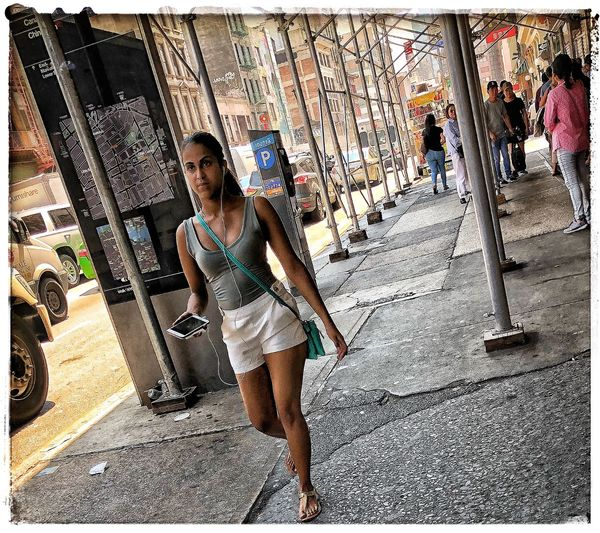 summer in da city Street Photography Women Real People One Person Leisure Activity
