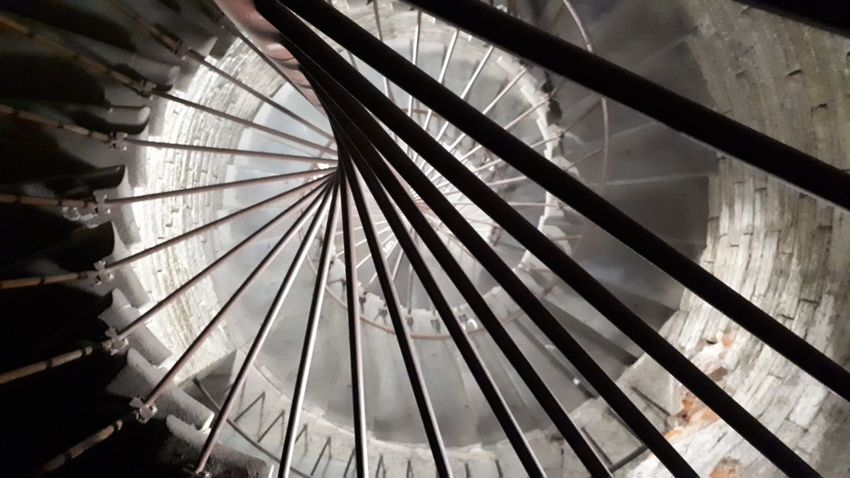 City Spiral Staircase Architecture Close-up