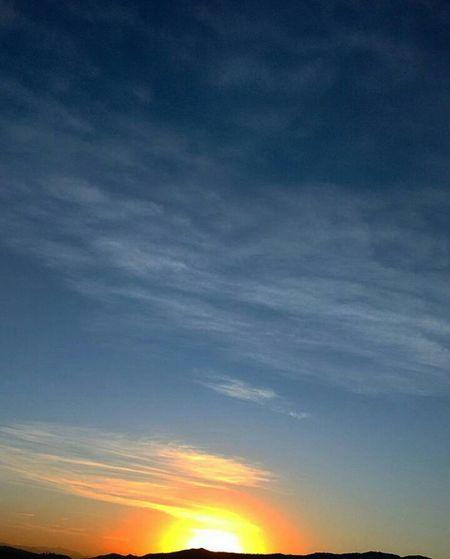 Atibaia Pedra Grande Sunrise Sunlight Sky Skyporn