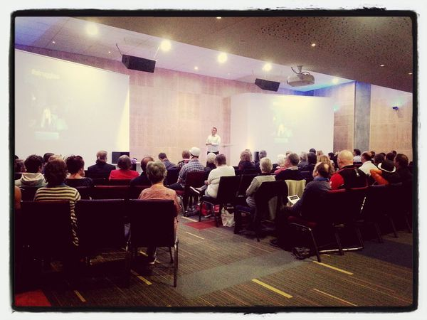 Packed service this morning! Richard launching our new series Struggles ILoveElim Godshouse