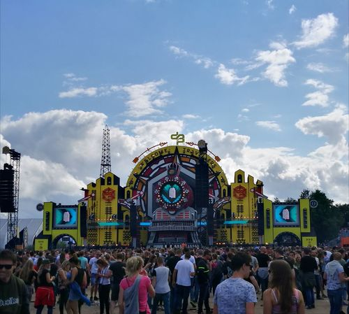 Decibel Hilvarenbeek Beekse Bergen Thenetherlands Festival Crowd Travel Destinations People Outdoors Sky Day Sommergefühle Party Music Harder Styles Festival Season Colours Clouds Dance