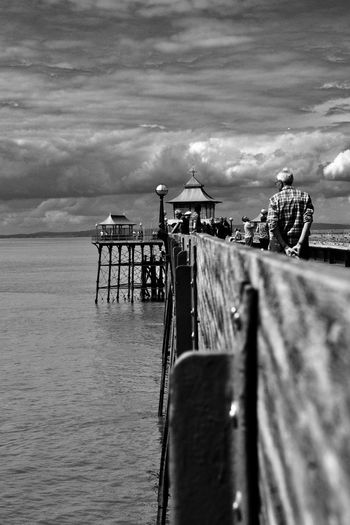 Moody Sky Pier