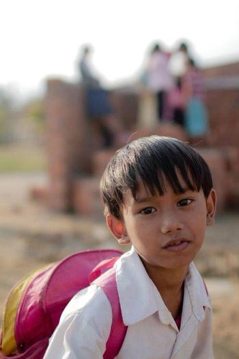 Children People Cambodia Taking Photos