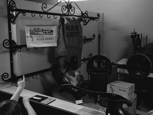 Visual Journal June 2017 Wilber Czech Museum Wilber, Nebraska A Day In The Life B&W Collection Camera Work Everyday Lives EyeEm Gallery Getty Images Small Town America Visual Journal Wilber Czech Museum B&w Photography History Indoors  Meat Shop Museum Photo Diary Practicing Photography Small Town Stories