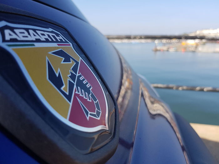Fiat at Harbour Fiat 500 Abarth Fiat Fiat500 Car Badges Blue Blue Sea Ramsgate Ramsgate Royal Harbour Pier Boats Pontoon EyeEm Selects Water Sea Harbor Nautical Vessel Close-up