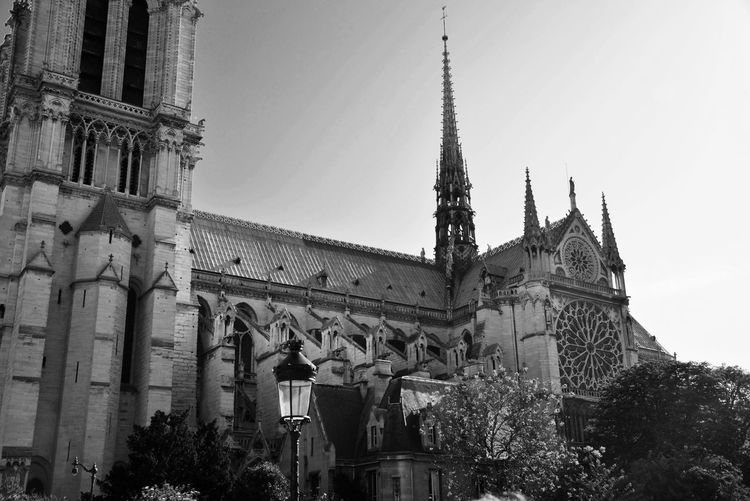 Before the fire Notre Dame De Paris Touristic Destination Historical Architecture Monument Historical Building Touristic Attraction Blackandwhite EyeEm Best Shots - Black + White Built Structure Architecture Building Exterior Sky Low Angle View Building Religion Travel Destinations Spirituality Place Of Worship History The Past City Outdoors Travel No People Day Clear Sky Belief