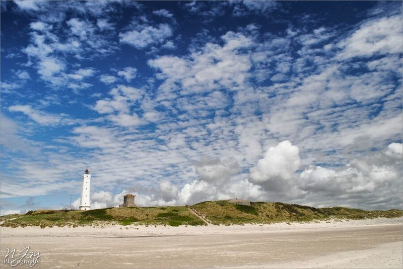 Blåvand Denmark Lighthouse Landscape Nature Sky And Clouds Cloudporn Beach EyeEm Masterclass The Traveler - 2015 EyeEm Awards