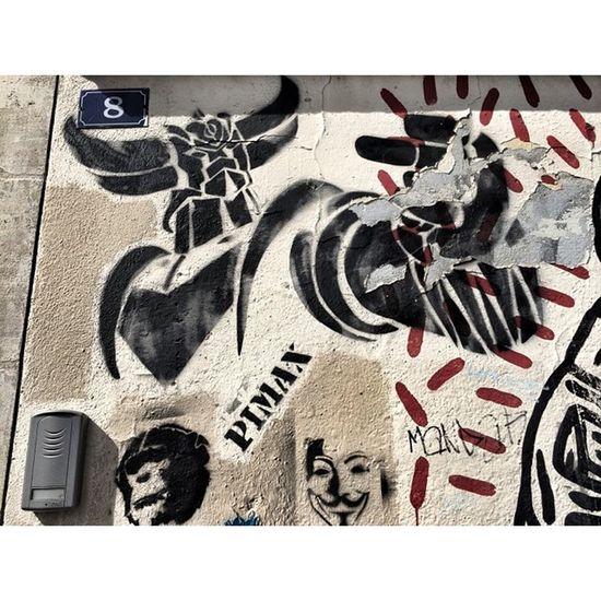 Pimax Goldorak Parisv -Streetart graffitis