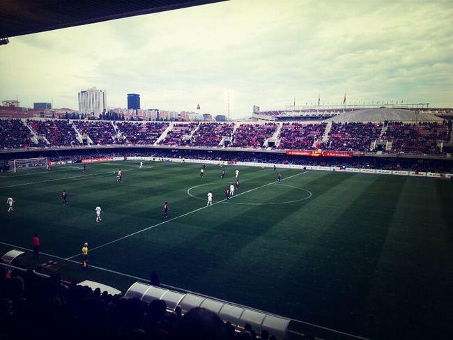 #miniclàssic i Camp Nou al fons.