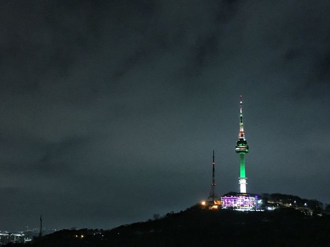 Namsan Park Namsan Tower  Trail Running Runxrun Night Run