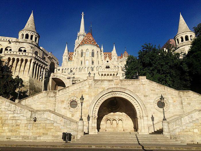 Fisherman's Bastion Castle Hill Budapest