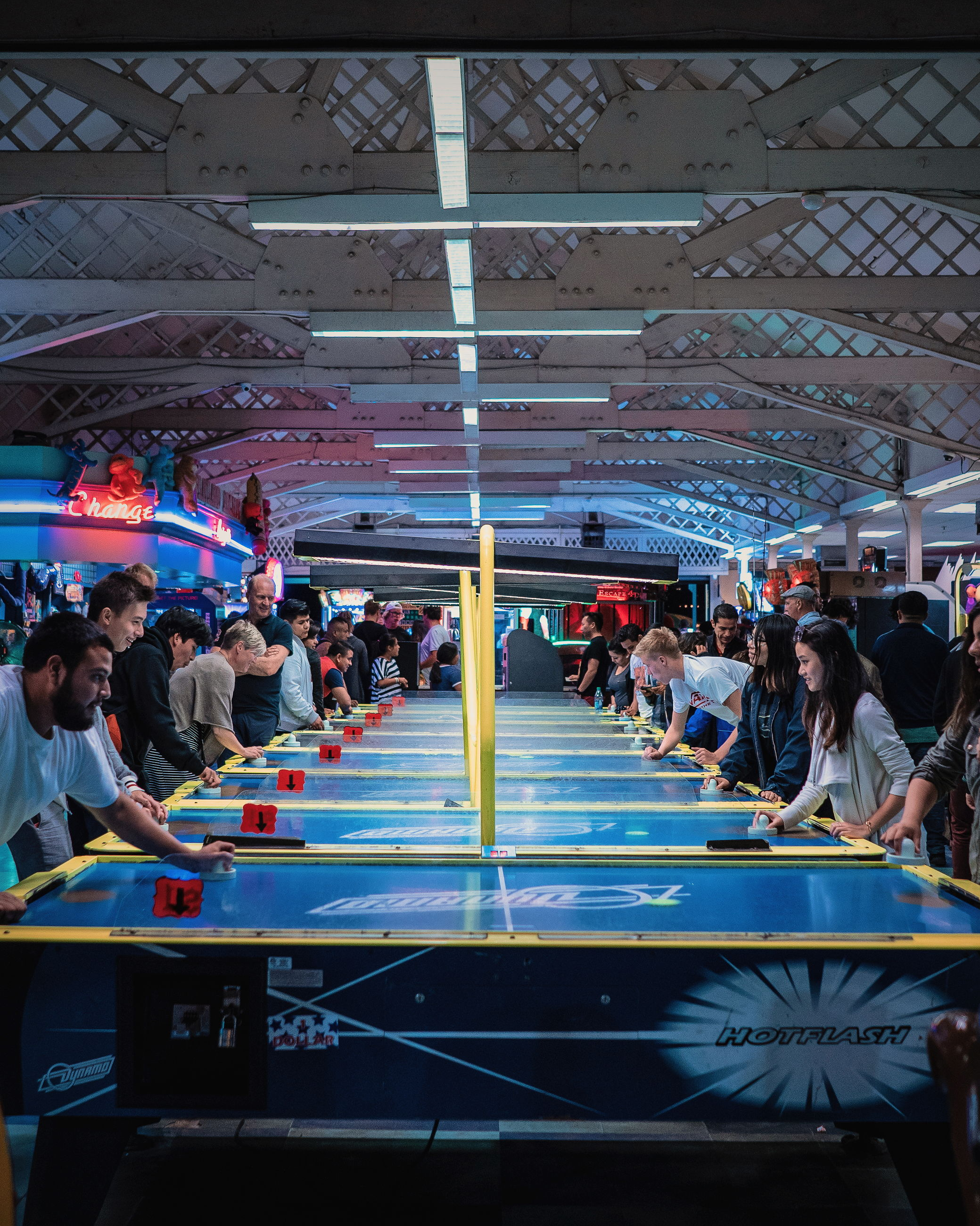 crowd, large group of people, group of people, real people, women, men, adult, lifestyles, architecture, leisure activity, indoors, sport, illuminated, built structure, enjoyment, day, lighting equipment, mixed age range, arts culture and entertainment, ceiling, waiting, spectator