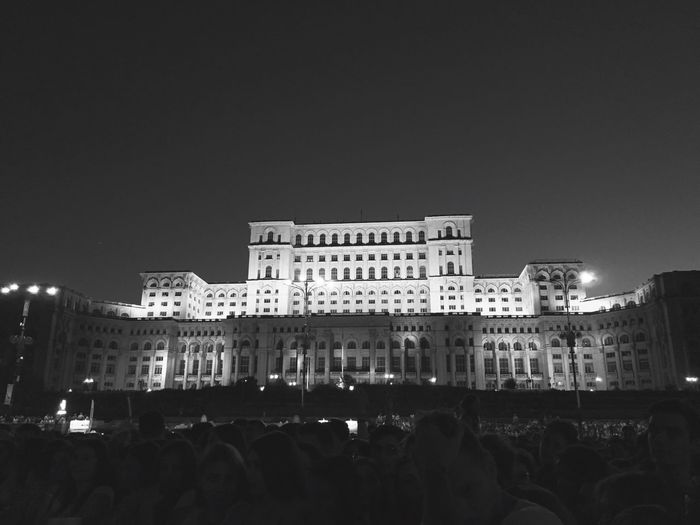 Summer Concert Festival Season Concert Concert Photography Landmark Bucharest City Life Summer Arhitecture