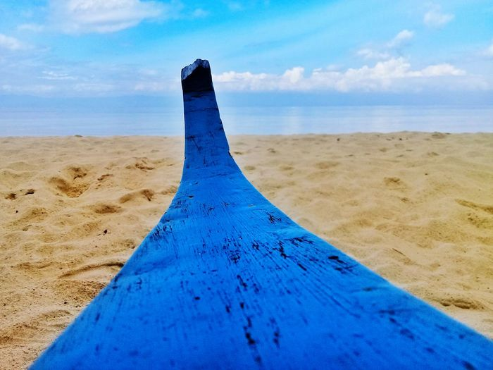 EyeEm Selects Sea Beach Sand Dune Blue Sand Water Sky Close-up Animal Themes Horizon Over Water