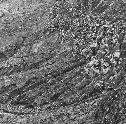 Rocks Volcano Crater Tangkubanperahu Tangkubanperahumountain Westjavaindonesia Black And White Photography Blackandwhite