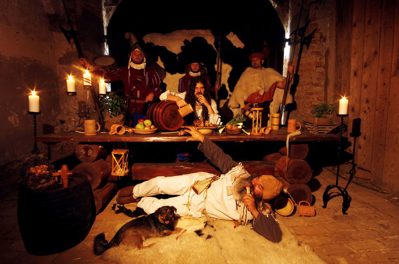 Back To The Future Banquet At The Court Castle Banquet Decoration Knights Templar Kıng Musketeers No Electricity Reinessance Renaissance Feast Royal Feast The Royal Court