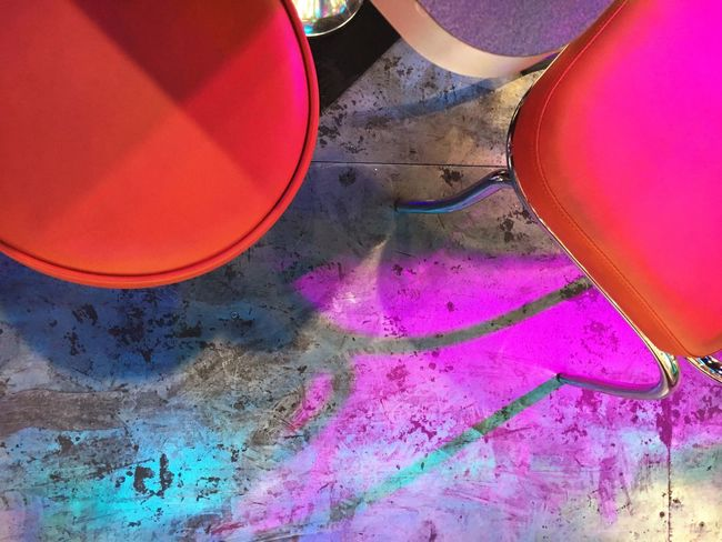 Diner Interior Design View From Above Ground Floor Colorful Lightshow Happiness Fun Loud Showcase: February