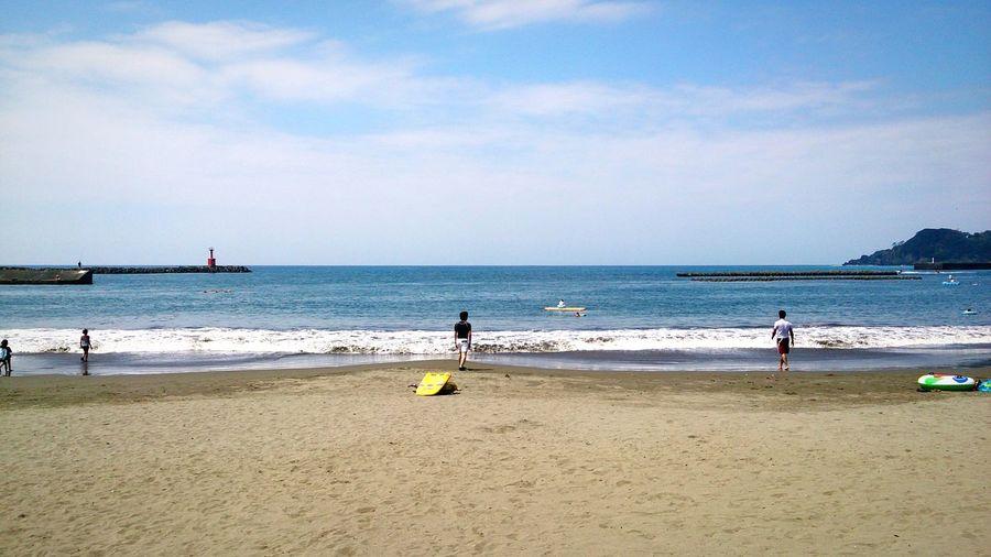Beach Summer Sea Seaside Sea And Sky Enjoying Life Clouds And Sky