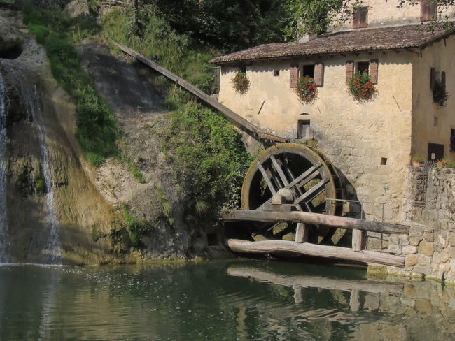 Molinetto Della Croda Day Nature No People Old-fashioned Outdoors Tree Water Watermill