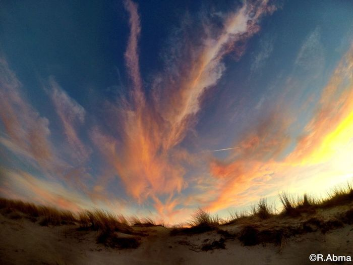 ☀ Sun Nature Sunset Texel  Sunshine Sunset_collection Clouds And Sky Clouds Beach Gopro