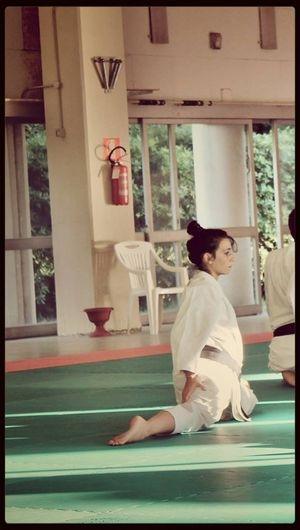 Karate Enjoying Life That's Me :)