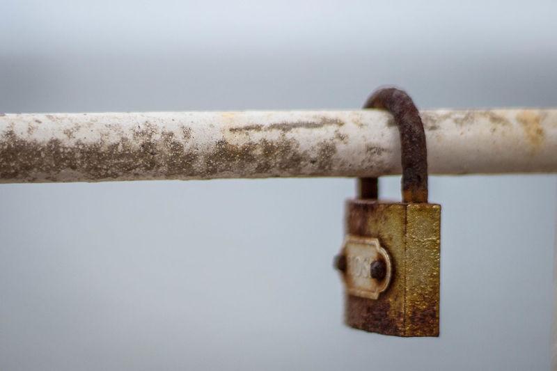Close-up Hanging Lock Love Lock Metal No People Padlock Rusty Safety