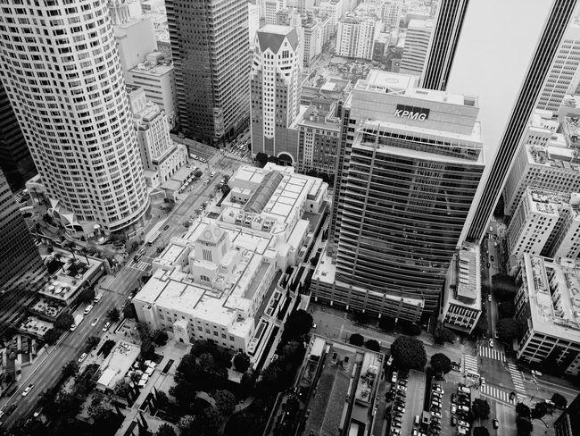 Architecture Building Exterior City Aerial View Cityscape Skyscraper DowntownLA Modern Los Angeles, California
