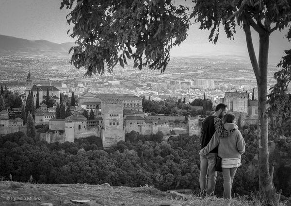 Alhambra . Granada, Spain #nature_collection #EyeEmNaturelover #nature Bnw_friday_eyeemchallenge #ignafotos Bnw_collection Eyeemphotography Bnw Arquitecture EyeEm Selects Eye4photography  Photography History Arquitecturas EyeEm Gallery #bnw_ignafotos EyeEmNewHere Blackandwhite EyeNemBlackandWhite Medieval Architecture Tree Young Women Friendship Togetherness Full Length Women Bonding Standing Happiness Men