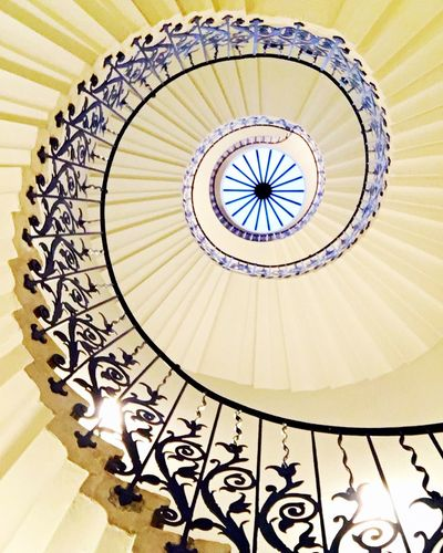 Staircase Steps And Staircases Staircase Spiral Railing Steps Architecture Built Structure Design Indoors  Stairs Low Angle View No People Spiral Stairs Spiral Staircase Close-up Day