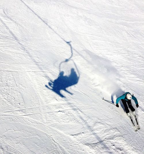 Ski Lift Snow