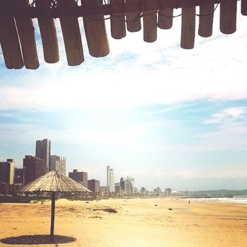 City Architecture Beach Sky Built Structure Building Exterior Travel Destinations Sand Cloud Vacations Outdoors Tourism Tall - High Skyscraper Shore Day Sea Skyline Cloud - Sky City Life Durban South Africa South Beach Durban Life City Life