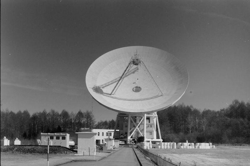Nobeyama radio observatory Architecture Film Observatory Monochrome Neopan Acros No People Parabolic Antenna Science Sky