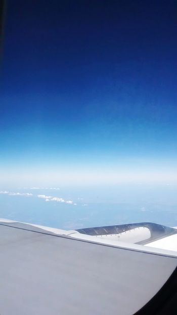 Sky_ Collection Blue Sky Ceu Azul Bluesky Skyporn Flight Bring Me The Horizon Travel Wings Infinity