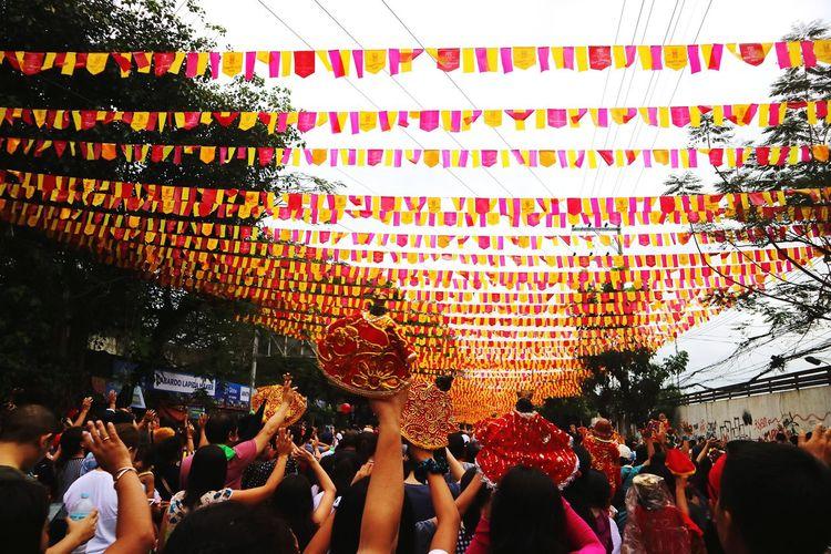 Sinulog Festival 2018 Sinulog Festival Cebu Cebucity Philippines Festival Catholic Festive Fun Fiesta Dancing Vacation Faith Stoniñofeastday Men Outdoors Adult